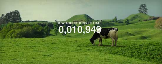 cow abductions