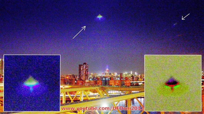 ufovni ufo Manhattan New York new york facebook.