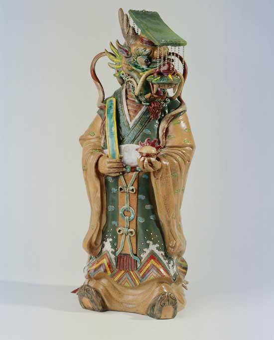 rey dragon porcelana