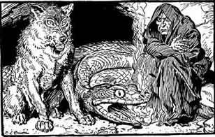 loki children jormungand world serpent fenrir fenris wolf hel norse mythology norse myth