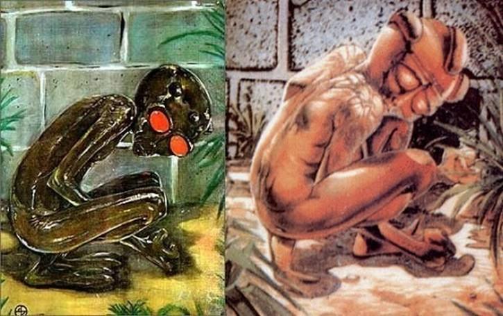 Representación-del-extraterrestre-de-Varginha